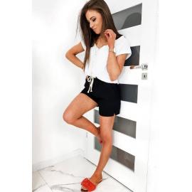 Black women's shorts CAPI SY0126