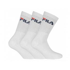 3PACK ponožky Fila bílé (F9505-300) S