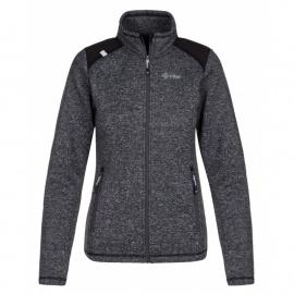 Women's fleece sweatshirt Regin-w dark gray - Kilpi