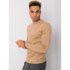 Ciemnobeżowy sweter dla mężczyzny LIWALI
