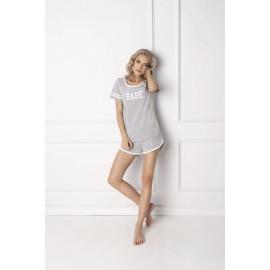 Piżama Babe Short Grey