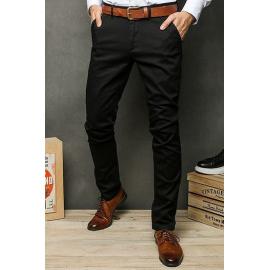 Black men's chino trousers UX2394