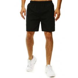 Black men's swimming shorts SX2076