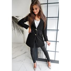 BELLA women's coat black NY0355
