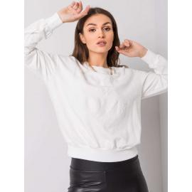 Biała bluza damska z napisem