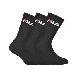 3PACK ponožky Fila černé (F9505-200) S