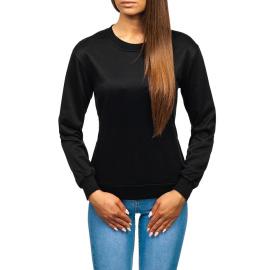Ležerna ženska dukserica Denley WB11002 - crna,