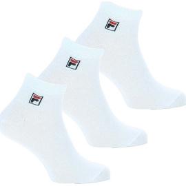 3PACK ponožky Fila bílé (F9303-300) M