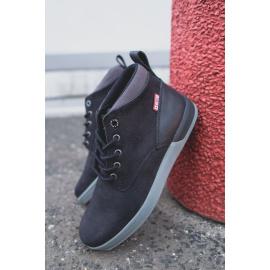 Men's Boots Leather Big Star Black EE174197
