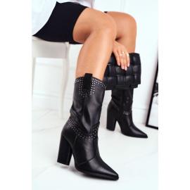 Women's Boots Warm Black Athens