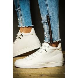 White men's sneakers ZX0125