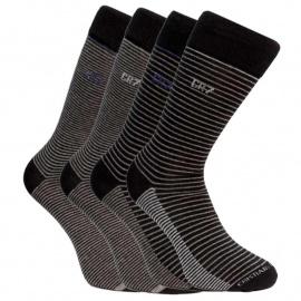 4PACK ponožky CR7 vícebarevné (8180-80-12) L
