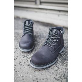 Men's Hiking Boots Leather Big Star Black EE174228
